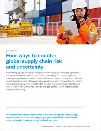 Th Four ways to counter global supply chain risk and uncertainty Executive Brief English 457px
