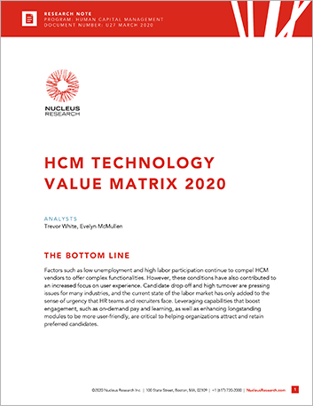Th HCM Technology Value Matrix U 27 March 2020 457px
