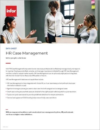 Th HR Case Management Data Sheet English 457px