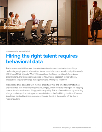 Th Hiring the right talent requires behavioral data White Paper English 457px