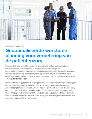 Th Holistically improving patient care with optimized workforce scheduling White Paper Dutch 457px