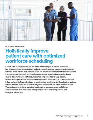 Th Holistically improving patient care with optimized workforce scheduling White Paper English 457px