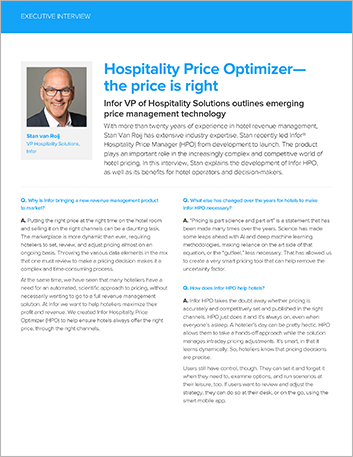 Th Hospitality Price Optimizer the price is right Executive Interview S Van Roij English 457px