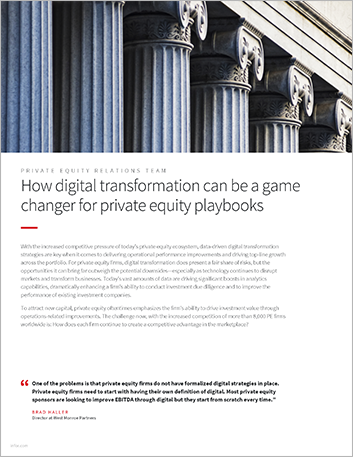 Th How digital transformation can be a game changer for private equity playbooks Executive Brief English 457px