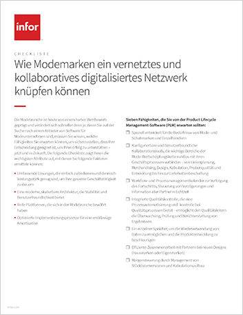 Th How fashion brands can create a connected and collaborative digitized network Checklist German 457px