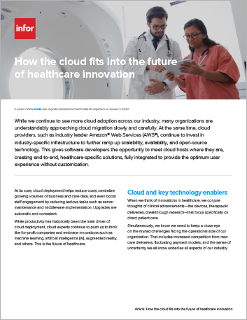 Th How the cloud fits into the future of healthcare innovation Article English 457px