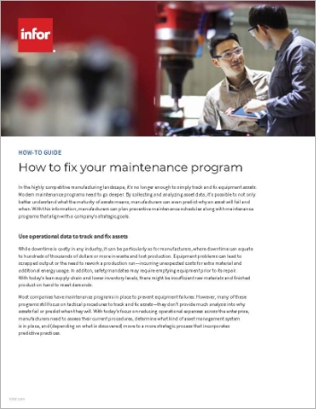 Th How to fix your maintenance program How to Guide English 457px