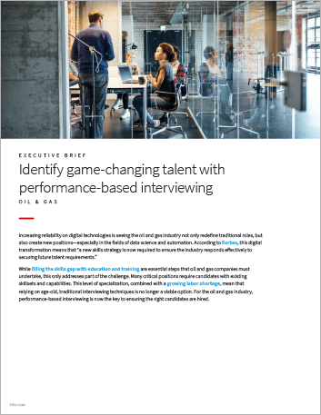 Th Identify game changing talent with performance based interviewing Oil Gas Executive Brief English 457px