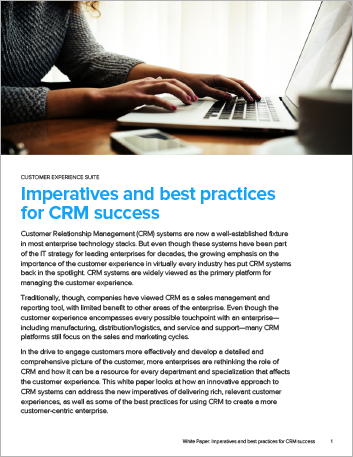 Th Imperatives and best practices for CRM success White Paper English 457px