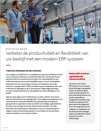 Th Improve business productivity and agility with modern ERP Executive Brief Dutch 457px