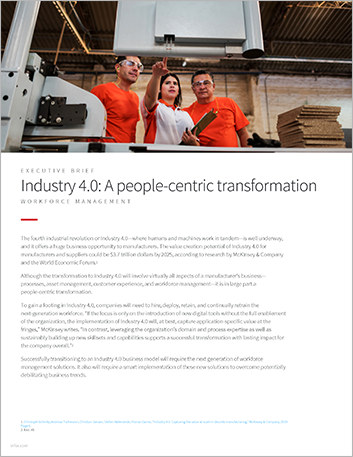 Th Industry 4 0 A people centric transformation Executive Brief English 457px