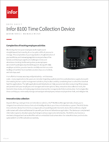 Th Infor 8100 Time Collection Device Data Sheet English 457px