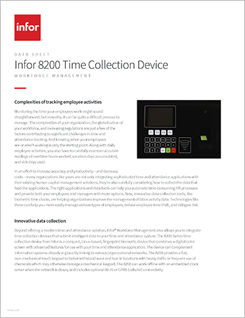 Th Infor 8200 Time Collection Device Data Sheet English 457px