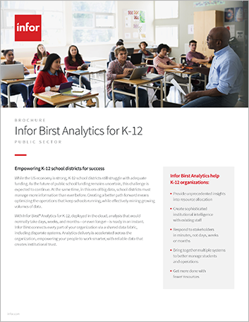 Th Infor Birst Analytics for K 12 Brochure English 457px