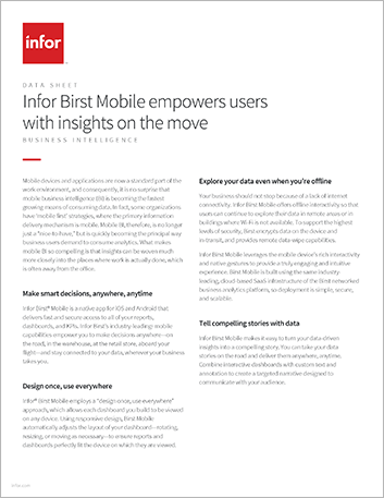 Th Infor Birst Mobile empowers users with insights on the move Data Sheet English 457px