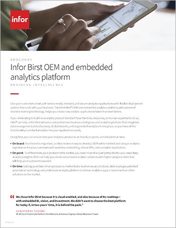 Th Infor Birst OEM and embedded analytics platform Brochure English 457px