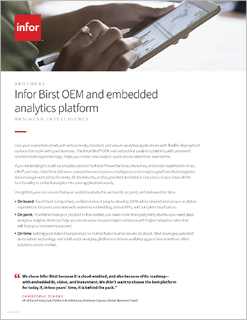 Th Infor Birst OEM and embedded analytics platform Brochure English 457px