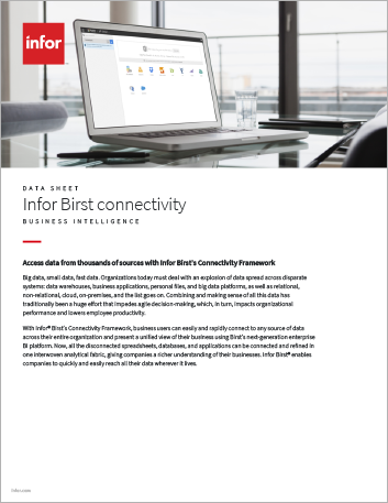 Th Infor Birst connectivity Data Sheet English 457px