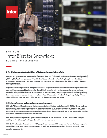Th Infor Birst for Snowflake Brochure English 457px