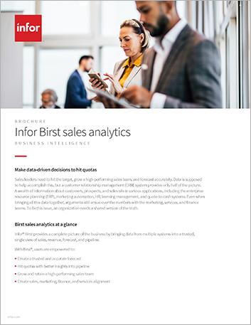 Th Infor Birst sales analytics Brochure English 47px