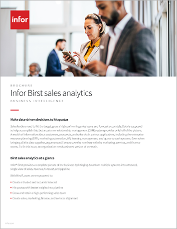 Th Infor Birst sales analytics Brochure English 47px