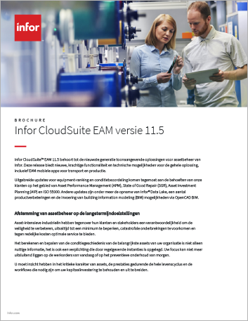 Th Infor Cloud Suite EAM version 11 5 Brochure Dutch 457px