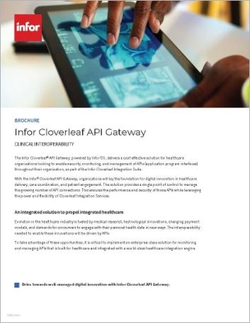 Th Infor Cloverleaf API Gateway Brochure English 457px