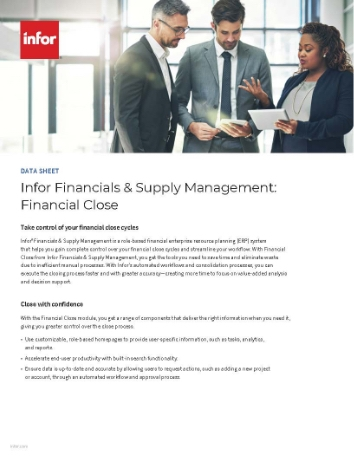 Th Infor Financials and Supply Management Financial Close Data Sheet English 457px