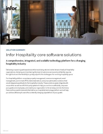 Th Infor Hospitality core software solutions Solution Summary English 457px