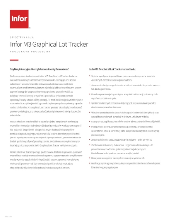 Th Infor M3 Graphical Lot Tracker Data Sheet Polish 457px