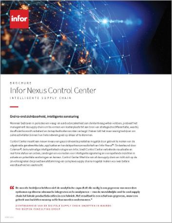 Th Infor Nexus Control Center Brochure Dutch 457px