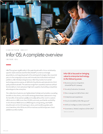 Th Infor OS A complete overview Executive Brief English 457px