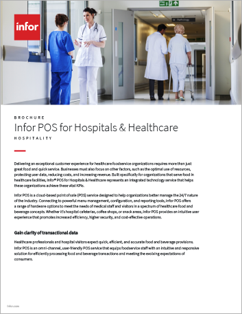 Th Infor POS for Hospitals Healthcare Brochure English 457px