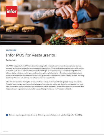 Th Infor POS for Restaurants Brochure English 457px