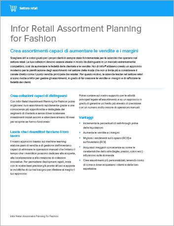 Th Infor Retail Assortment Planning for Fashion Datasheet Italian 457px