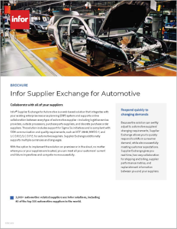 Th Infor Supplier Exchange for Automotive Brochure English 457px