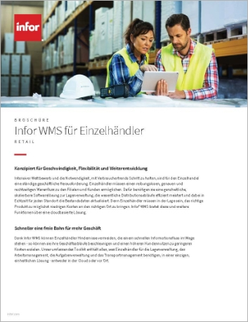 Th Infor WMS for retailers Brochure German 457px