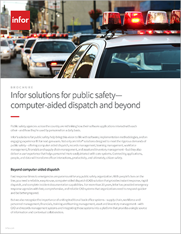 Th Infor solutions for public safety computer aided dispatch and beyond Brochure English 457px
