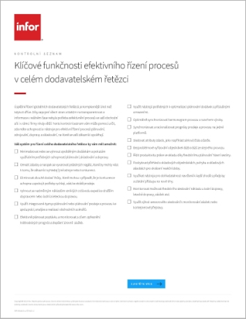 Th Key capabilities for effectively managing end to end supply chain processes Checklist Czech 457px