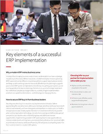 Th Key elements of a successful ERP implementation Executive Brief English 457px