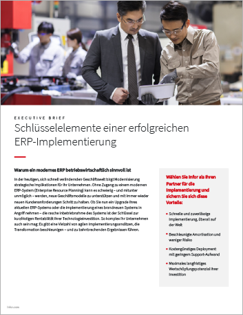 Th Key elements of a successful ERP implementation Executive Brief German 457px