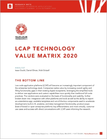 Th LCAP technology value matrix 2020 3rd party white paper English 457px