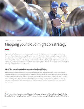 Th Mapping your cloud migration strategy Executive Brief English 457px