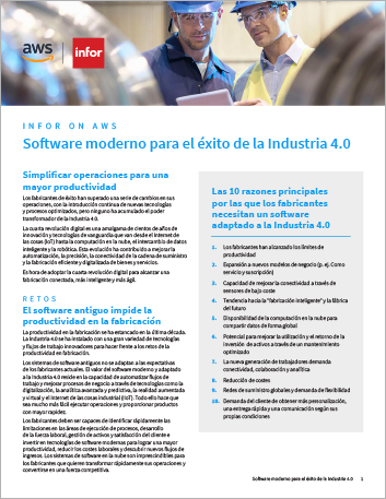 Th Modern software for Industry 4 0 success Brochure Spanish Spain 457px