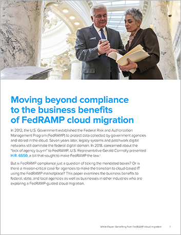 Th Moving beyond compliance to the business benefits of Fed RAMP cloud migration White Paper English 457px