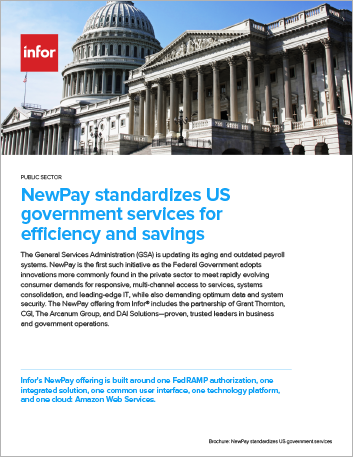 Th New Pay standardizes US government services for efficiency and savings Brochure English 457px
