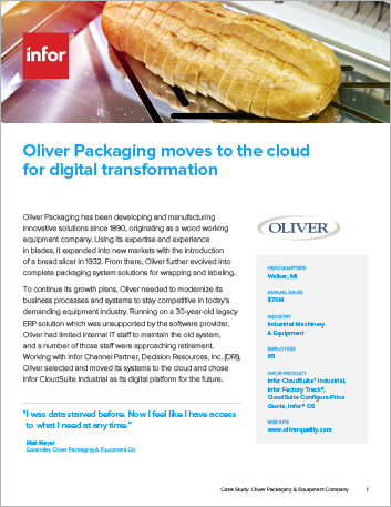 Th Oliver Packaging Equipment Company Case Study Infor CS Industrial Machinery Equipment NA English 457px