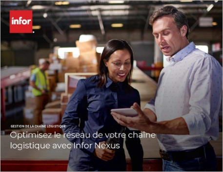 Th Optimize your supply chain network with Infor Nexus Brochure French 457px