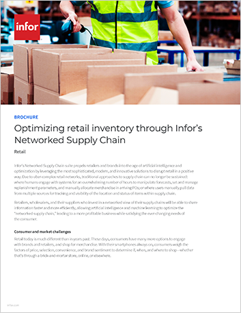 Th Optimizing retail inventory through Infors Networked Supply Chain Brochure English 457px