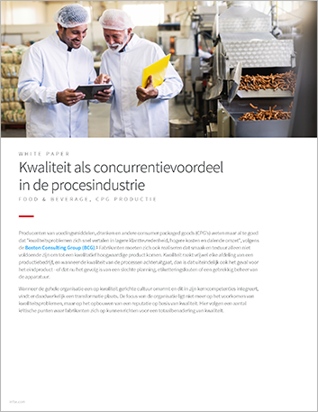 Th Quality as a competitive advantage in process manufacturing White Paper Dutch 457px